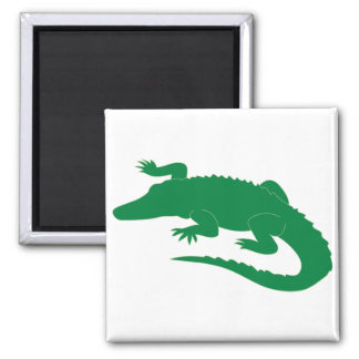 Crocodile Alligator Gator Reptile Square Magnet