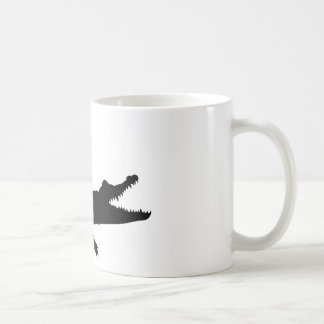 Crocodile alligator coffee mug