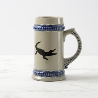 Crocodile alligator coffee mugs