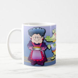 Crocodile and Pie Coffee Mug
