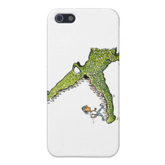 Crocodile cartoon cover for iPhone 5/5S