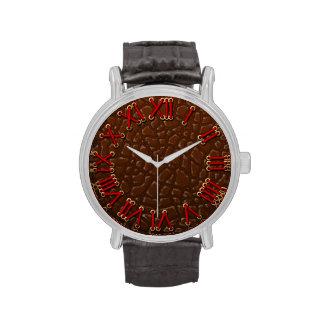 Crocodile clock wrist watches