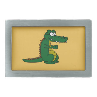 Crocodile design custom belt buckles