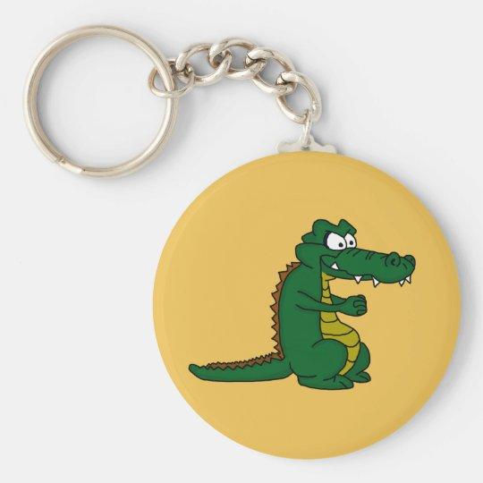 Crocodile design custom keychains