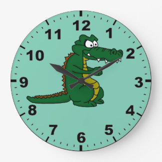 Crocodile design wrist watches wall clocks