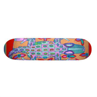 Crocodile Extreme Sports Skateboard