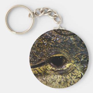 Crocodile Eye Key Ring
