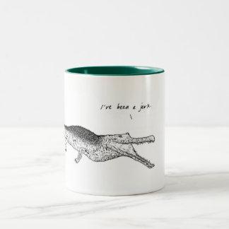 Crocodile, I've been a jerk, Animal Mug