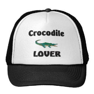 Crocodile Lover Mesh Hats