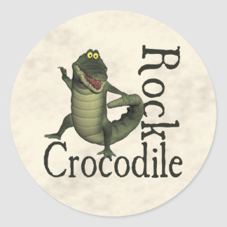 Crocodile Rock Classic Round Sticker