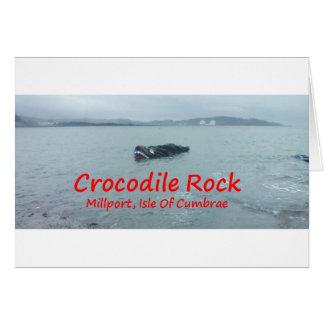 Crocodile Rock High Tide ( Red Text ) Card