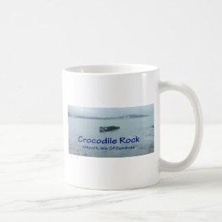 Crocodile Rock Mugs ( Blue Text or Red ) Coffee Mugs