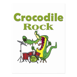 crocodile rock postcard