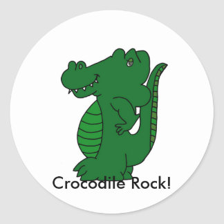 Crocodile Rock! Sticker Sheet (20)
