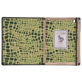 Crocodile Skin iPad Folio Case