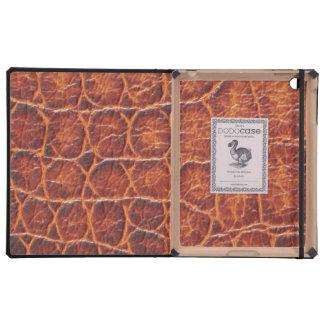 Crocodile Skin iPad Case