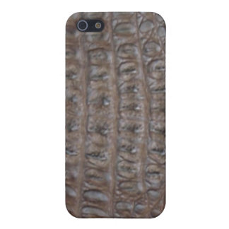 Crocodile skin cover for iPhone 5/5S