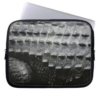 CROCODILE SKIN (laptop sleeve)