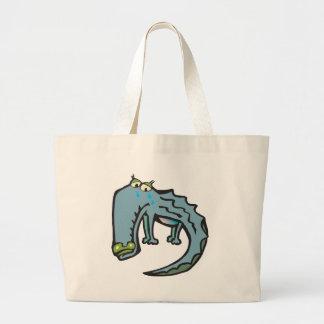 Crocodile Tears Large Tote Bag