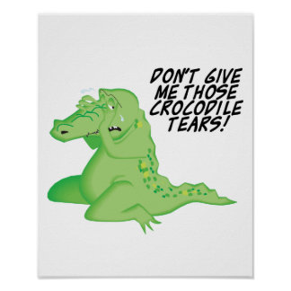 crocodile tears poster