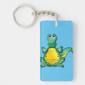 Crocodile's hug key ring