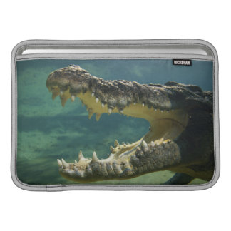 Crocodiles open mouth sleeve for MacBook air