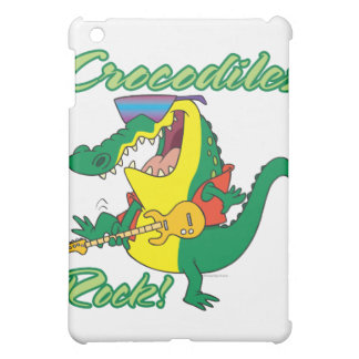 crocodiles rock music croc cartoon iPad mini case