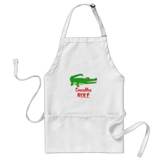 Crocodiles Rule Standard Apron