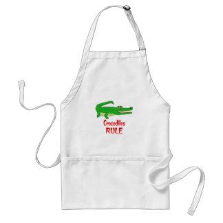 Crocodiles Rule Standard Apron
