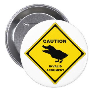 Crocoduck 7.5 Cm Round Badge