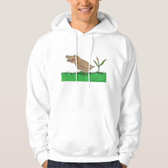 Crocoduck hoodie in colour!