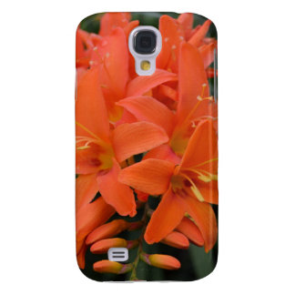 Crocosmia Flowers Case Samsung Galaxy4