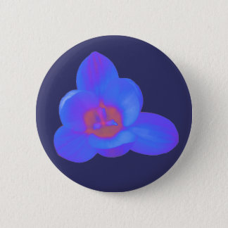 Crocus Flower Hot and Cold Button