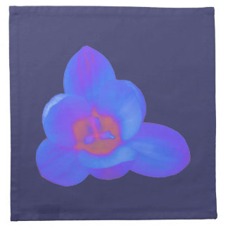 Crocus Flower Hot and Cold Napkin