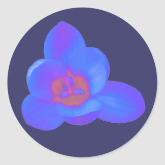 Crocus Flower Hot and Cold Sticker