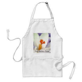 Crocus Flower in Early Spring Adult Apron
