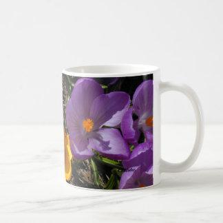 Crocus Trio, CEHiday Coffee Mug