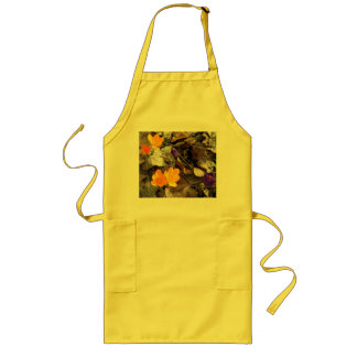 Crocuses Long Apron