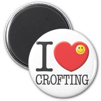 Crofting 6 Cm Round Magnet