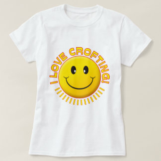 Crofting Love Smile T-Shirt