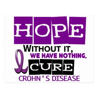Crohn's Disease HOPE 2 Postcard
