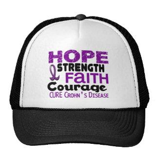 Crohn's Disease HOPE 3 Mesh Hat