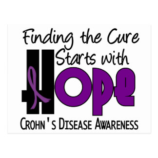Crohn's Disease HOPE 4 Postcards