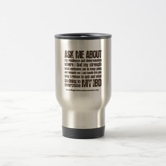 Crohns and Colitis Empowerment Travel Mug