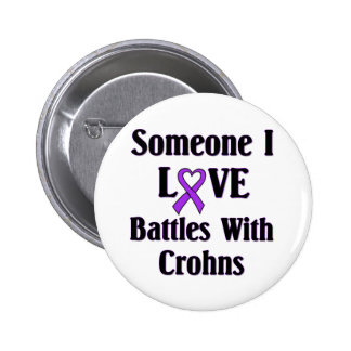 Crohns Disease 6 Cm Round Badge