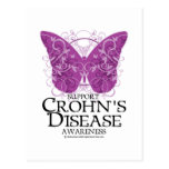 Crohn's Disease Butterfly Postcard