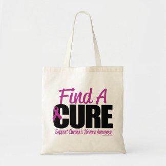 Crohn's Disease Find A Cure Tote Bag