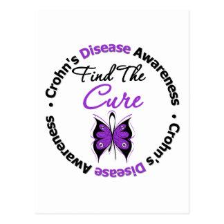 Crohn's Disease Find The Cure Postcard