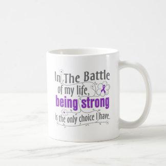 Crohns Disease In The Battle Basic White Mug