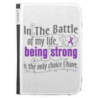 Crohns Disease In The Battle Kindle Keyboard Case
